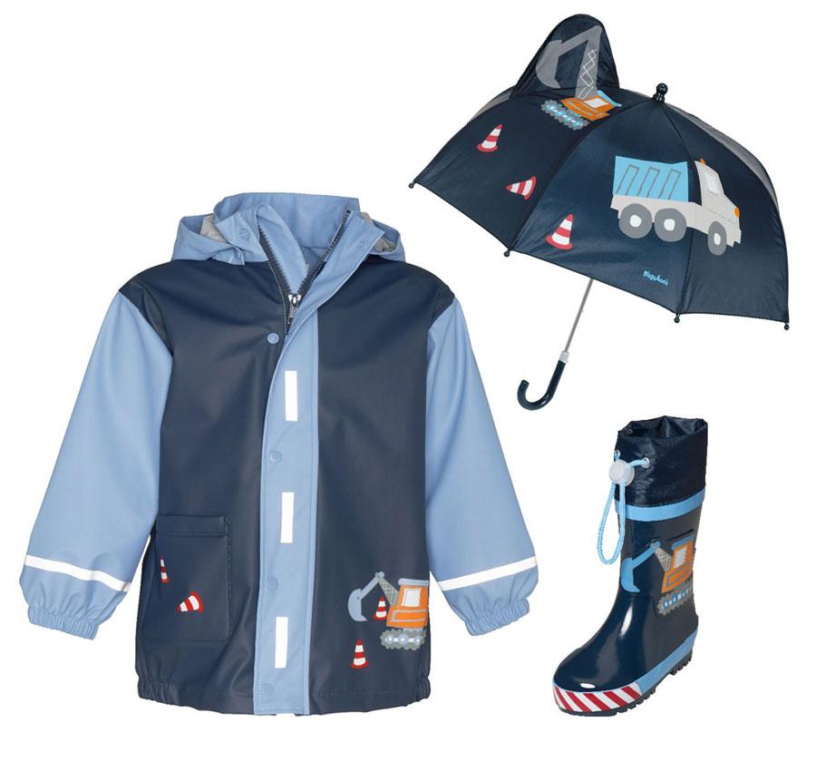 735df6d1c31 Детски гумени ботуши, дъждобран и чадър Стройко