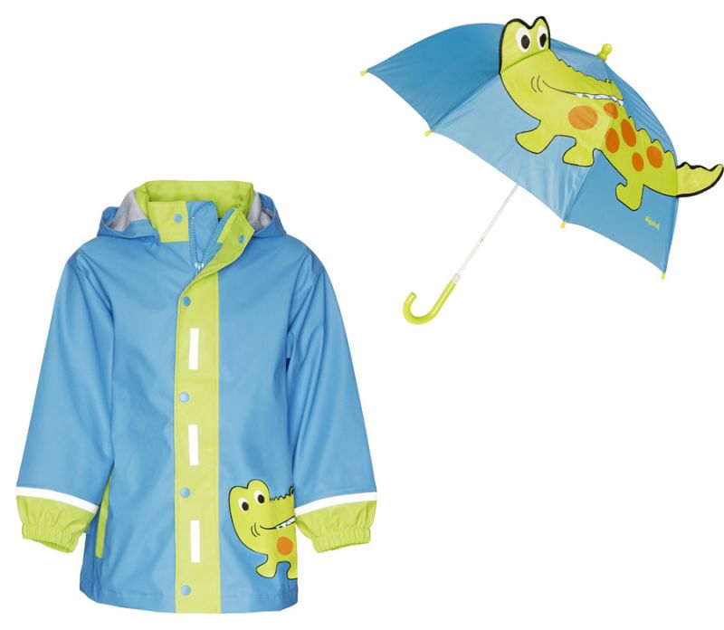 e4ab2254100 Детски дъждобран и детски чадър за дъжд Крокодил