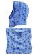 Детски шал и шапка Blue Stars 6
