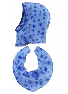Детски шал и шапка Blue Stars 5