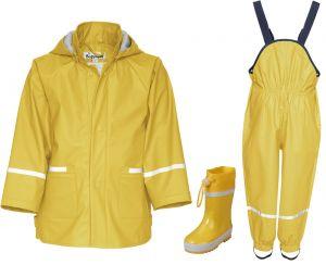 Детски жълти гумени ботуши в сет Yellow 1