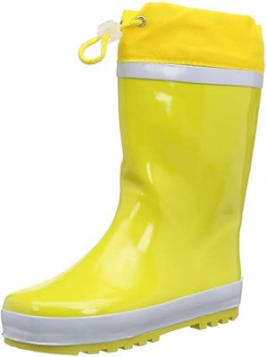 Детски жълти гумени ботуши