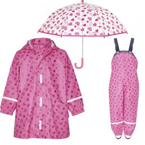 Детски дъждобран в сет Hearts 1