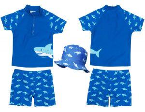 Детски бански за момчета Акула 62