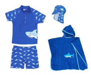 Детски бански момче Акула 30