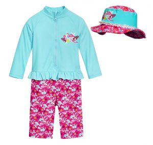 Бански за момичета Фламинго 14