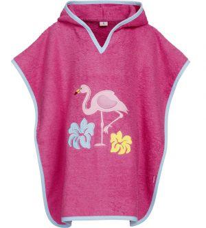 Детско пончо за плаж Flamingo