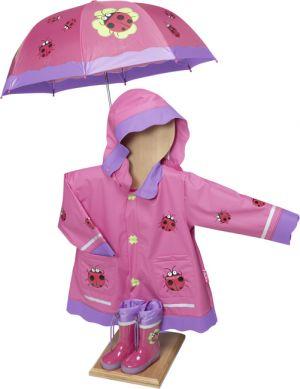 Калинка- детски гумени ботуши, дъждобран и чадър