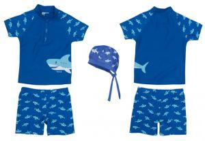 Детски бански за момче Акула 5