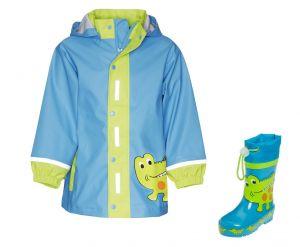 Детски дъждобран Крокодил в сет