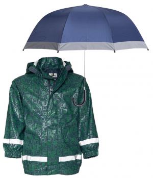 Сет детски дъждобран Орнамент и чадър