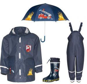 Детски дъждобран Пожарна в сет 7