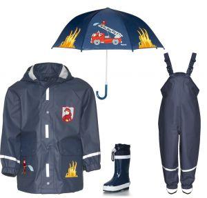 Детски дъждобран Пожарна в сет 6