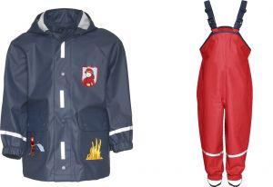 Детски дъждобран Пожарна в сет 10
