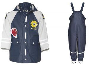 Детски дъждобран Полицай в сет 11