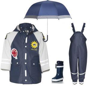 Детски дъждобран Полицай в сет 14