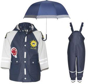Детски дъждобран Полицай в сет 15