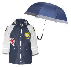 Детски дъждобран Полицай в сет