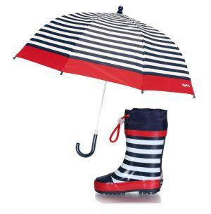 Детски гумени ботуши и чадър Райе