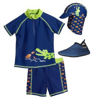 Детски бански с UV защита за момче в Кро 3