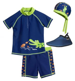 Детски бански с UV защита за момче в Кро 5
