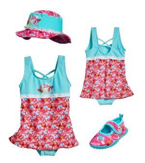 Детски бански момиче Фламинго 4