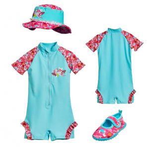 Детски бански момиче Фламинго 5