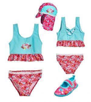 Детски бански момиче Фламинго 9