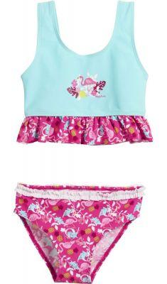 Бански за деца момичета Фламинго 2