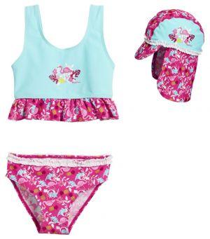 Детски бански момиче Фламинго 1
