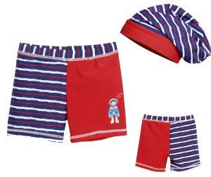 Детски бански за момче боксерки в сет Водолаз 9