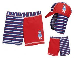 Детски бански за момче боксерки в сет Водолаз 10