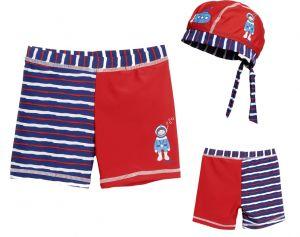 Детски бански за момче боксерки в сет Водолаз 11
