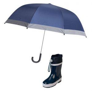 Детски гумени ботуши и чадър Blue