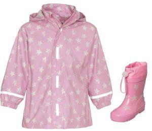 Детски дъждобран и гумени ботуши Stars