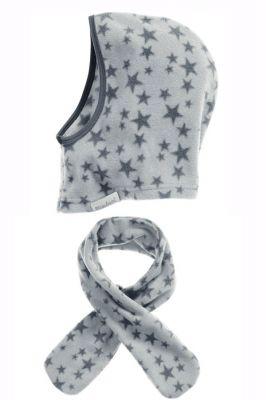 Детски шалове и шапка Grey Stars 5