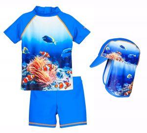 Детски бански момче Подводен свят 1