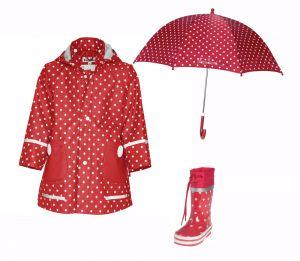 Детски дъждобран Dots в сет Dots 2