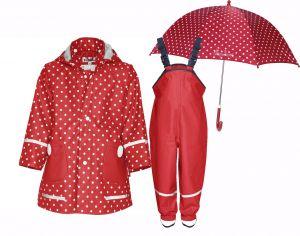 Детски дъждобран Dots в сет Dots 3