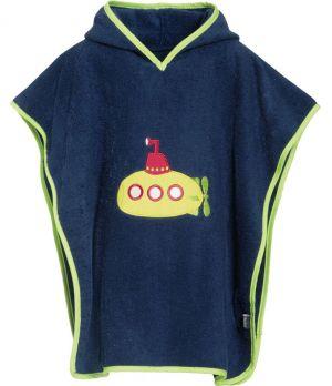 Детско пончо за плаж Submarine