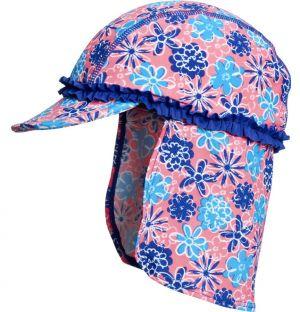 Детска шапка гъба Сини цветя