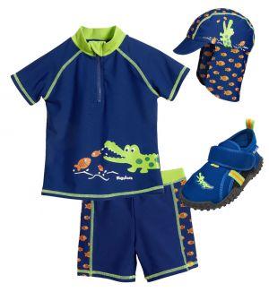 Детски бански с UV защита за момче в Кро 7