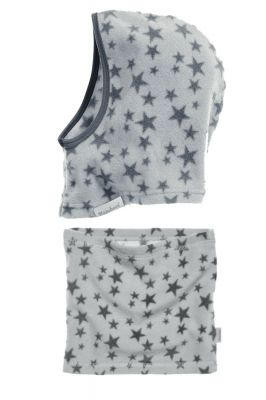Детски шал и шапка Grey Stars 4