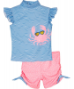 Бански за момиченце в сет Crab 3