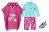 Бански за момичета в сет Фламинго 16