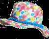 Детски бански за момиче Цветя 4