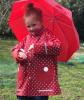 Детски дъждобран и чадър Dots